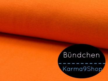 0,1m Bündchen orange #Q2