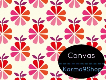 0,5m Canvas Apple Pie pink