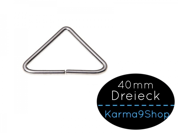 Triangel Dreieck 40mm